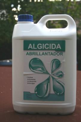 Algicida abrillantador