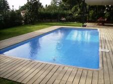 Construcció de piscina a Canovelles