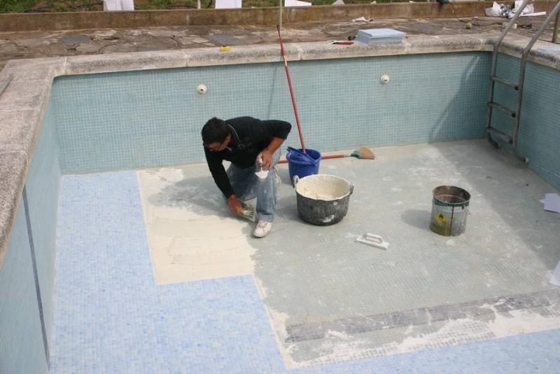 Construcci n de piscinas construcci n mantenimiento y for Impermeabilizacion piscinas